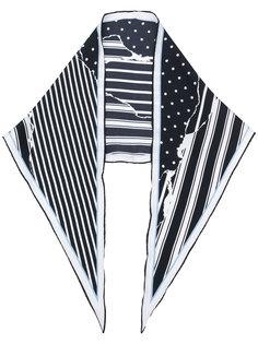 платок с комбинированным принтом Haider Ackermann