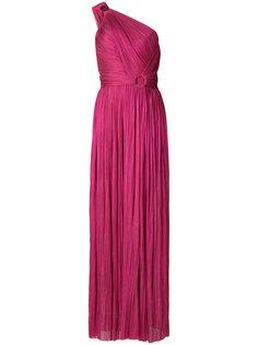 вечернее платье на одно плечо Maria Lucia Hohan
