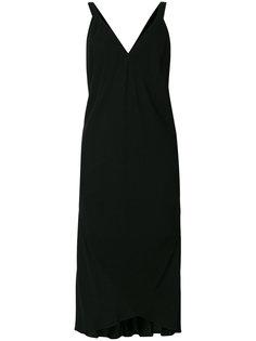 платье с V-образным вырезом Haider Ackermann