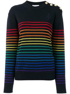 свитер в полоску JW Anderson