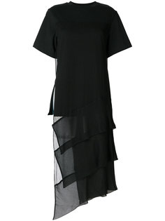 длинная ярусная футболка 3.1 Phillip Lim