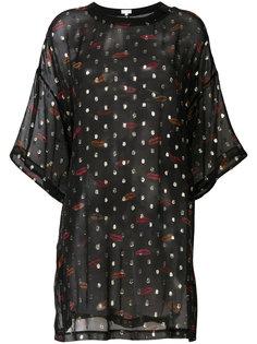 блузка с принтом Lala Berlin