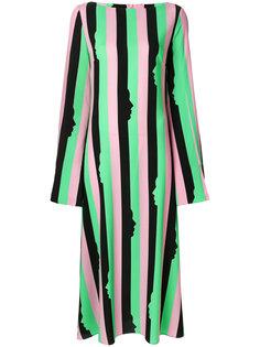 полосатое платье Miram Vivetta
