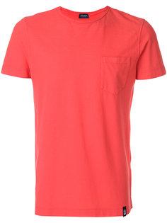 футболка с нагрудным карманом Drumohr