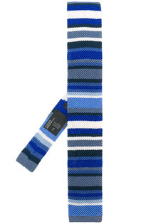 вязаный галстук в полоску Etro