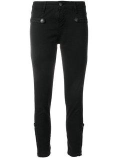 укороченные джинсы скинни  John Richmond