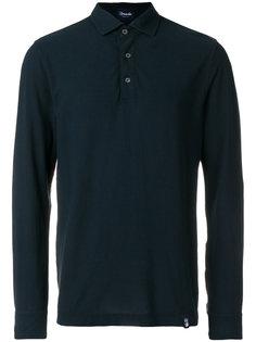 рубашка-поло с длинными рукавами Drumohr