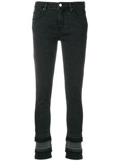 укороченные джинсы с многослойным краем  Victoria Victoria Beckham