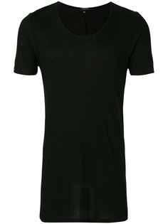 ribbed scoop neck T-shirt Unconditional