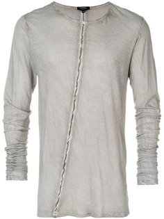 striped long sleeve T-shirt Unconditional