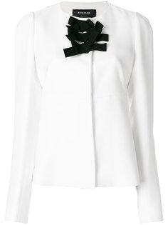 приталенный пиджак с бантом спереди  Rochas