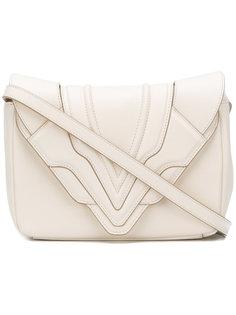 сумка с откидным клапаном с панельным дизайном Elena Ghisellini
