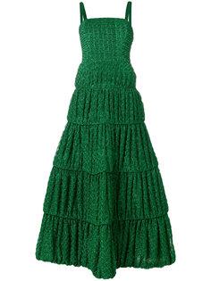расклешенное платье с вышивкой  Missoni