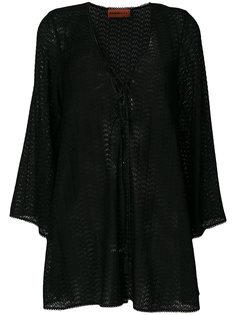 блузка-шифт с вышивкой Missoni
