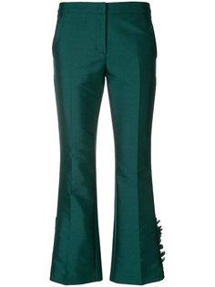 укороченные брюки с оборками  Nº21