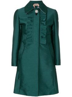 пальто с оборками  Nº21