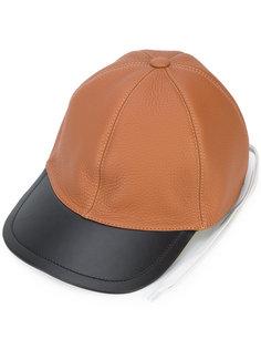 двухцветная кепка Loewe