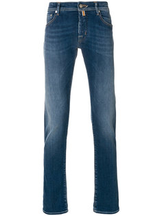 джинсы узкого кроя Jacob Cohen