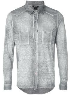 рубашка с накладными карманами с эффектом потертости Avant Toi