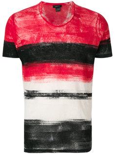 футболка с узором в полоску Avant Toi