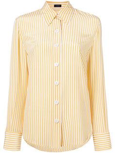 рубашка с узором в вертикальную полоску Joseph