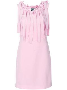 платье шифт с аппликацией Boutique Moschino