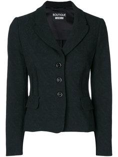 жаккардовый пиджак Boutique Moschino