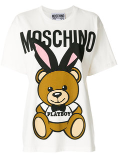 футболка Playboy Teddy Moschino