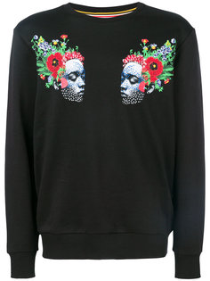 face print sweatshirt Les Benjamins