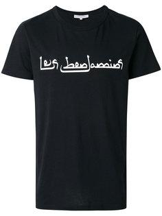 logo print T-shirt Les Benjamins