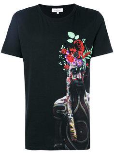 face printed T-shirt Les Benjamins