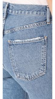 AGOLDE Cigarette Low Slung Straight Leg Jeans