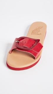 Ancient Greek Sandals Aglaia Buckle Slides