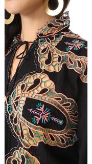 Antik Batik Paula Embroidered Blouse