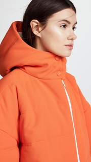 A.W.A.K.E. Orange Puffer Jacket Awake
