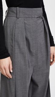 A.W.A.K.E. Wool Double Pleated Pants Awake