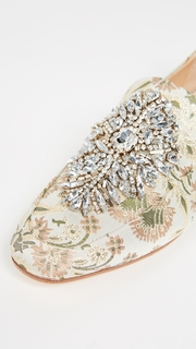 Badgley Mischka Salma Printed Loafers