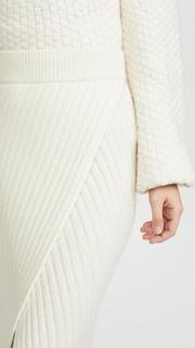 Brochu Walker Flavie Ribbed Knit Skirt