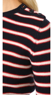 Chinti and Parker Breton Ribbed Sweater