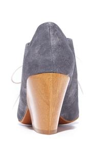Coclico Shoes Bea Block Heel Oxfords