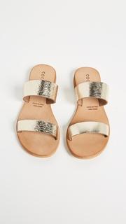 Cocobelle Leather Slide Sandals