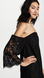 cupcakes and cashmere Adalila Off the Shoulder Dress