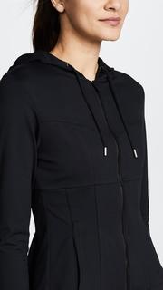 Cushnie Et Ochs Aurelia Hooded Zip Up Jacket