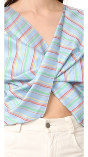 Esteban Cortazar Asymmetrical Torn Shirt
