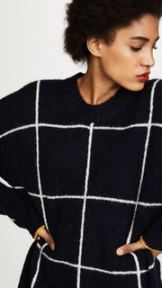 Elizabeth and James Fionn Oversized Crew Neck Sweater