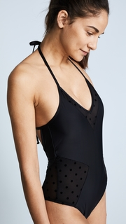 Ella Moss Sheer Dot One Piece