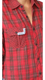 Etienne Marcel Greta Plaid Top