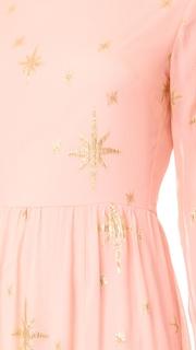 For Love & Lemons Gilded Star Maxi Dress