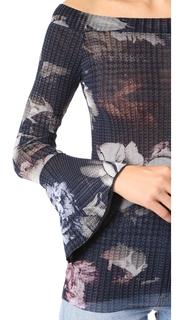 Fuzzi Long Sleeve Blouse