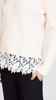 Generation Love Whitney Lace Sweater